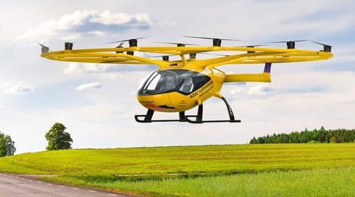 ADAC Luftrettung Volocopter