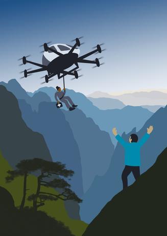 Flight Crowd 'UAM - Explore'. EHang to the Rescue