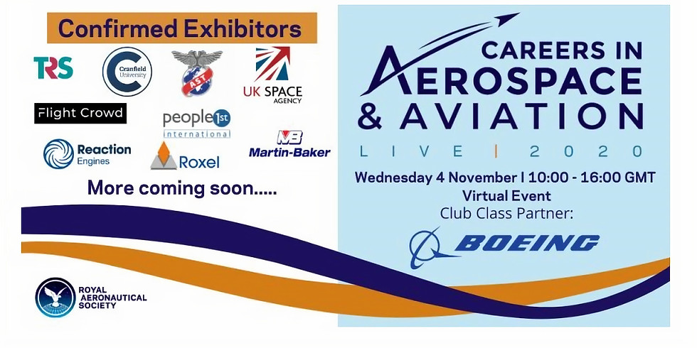 RAeS: Careers in Aerospace and Aviation Live 2020