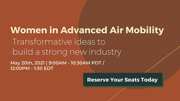 Women in Advanced Air Mobility: Big ideas to build a new industry