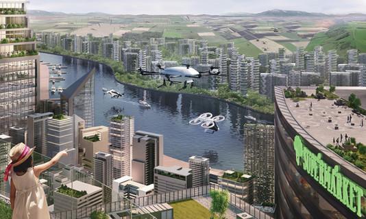 Airbus' vision of Urban Air Mobility