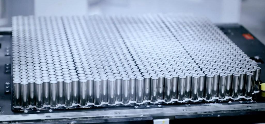 Tesla Panasonic battery cells