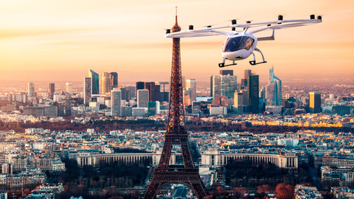 VoloCity above Paris
