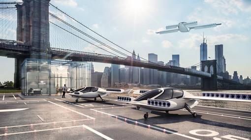 Lilium Jet in an urban environment