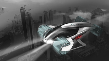 CycloTech's Cyclogyro design of a future UAM/AAM vehicle