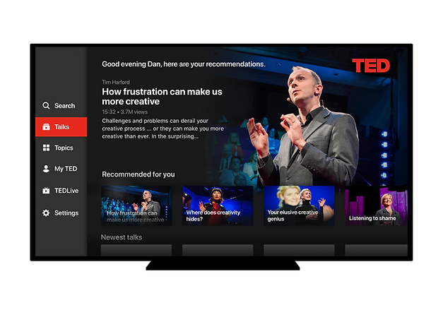 TED Apple TV app