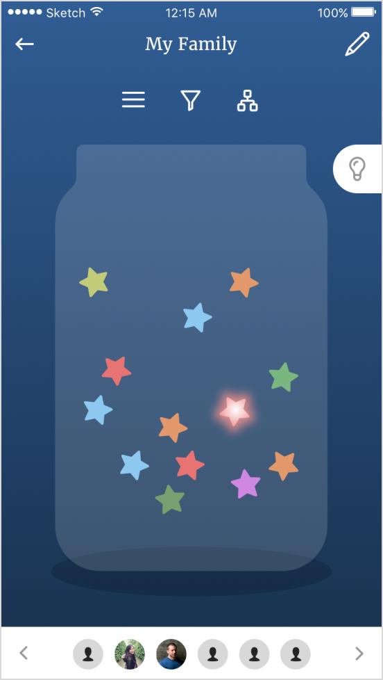 Story jar - mobile