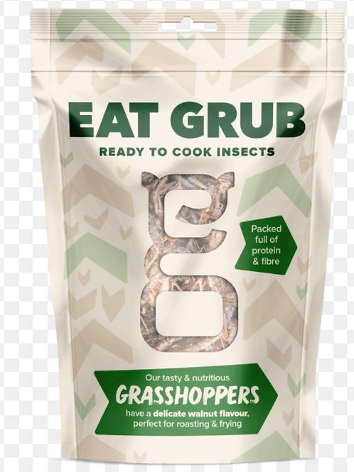Eat Grub Grasshoppers