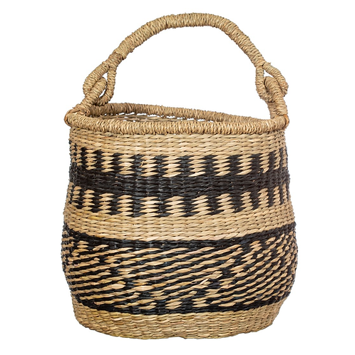 Sass and Belle Seagrass basket with handle
