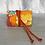 Thumbnail: Aura Que jewellery roll - Kaffe Fassett designs