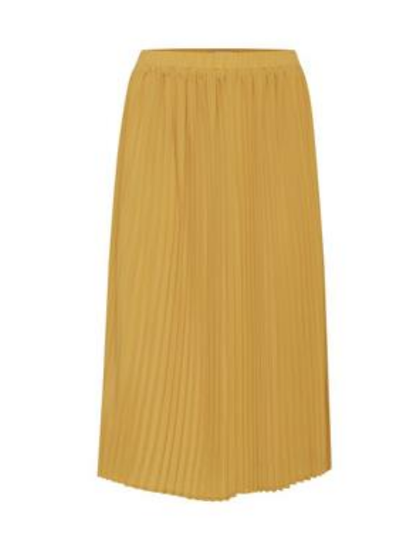 Ichi Bellorna Skirt in mustard