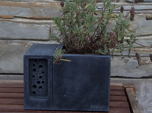 Beepot - charcoal - LOCAL DELIVERY ONLY
