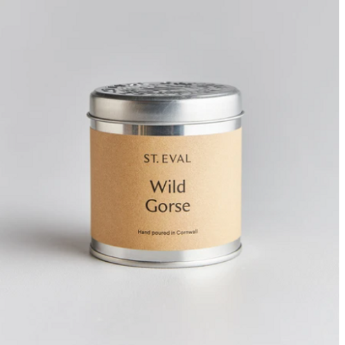St Eval Wild Gorse tinned candle
