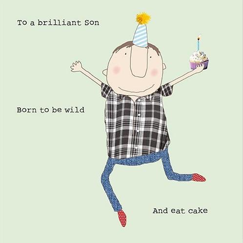 Rosie Made a Thing Son birthday - card
