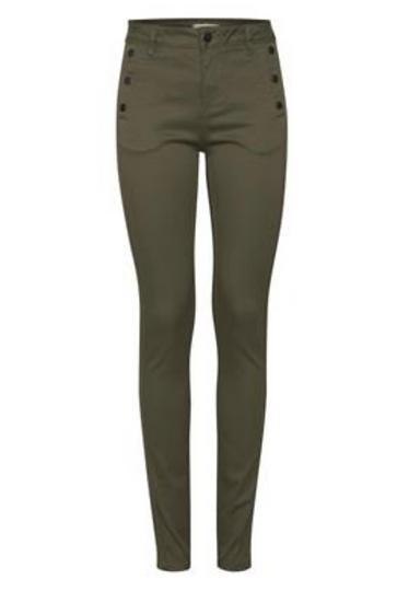 Fransa Lomax pants in hedge green