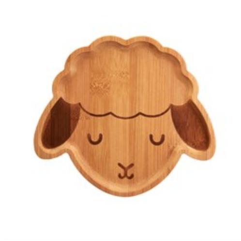 Sass and Belle bamboo baa baa sheep plate
