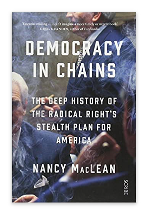 Democracy in chains paperback book