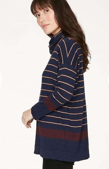 Thought Emery jumper in blueberry