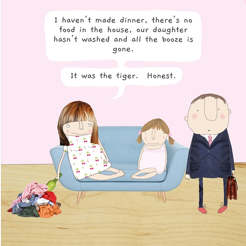 Rosie made a thing - tiger