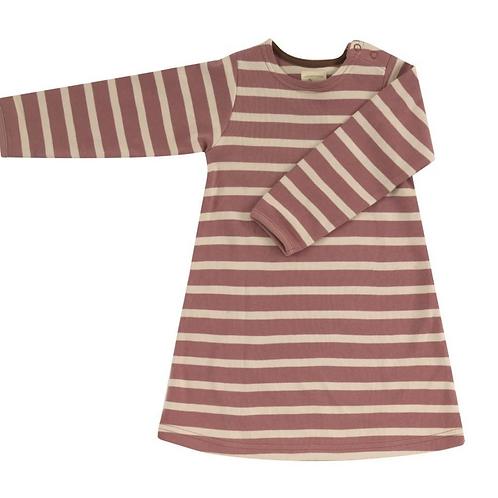 Pink breton dress Pigeon organics