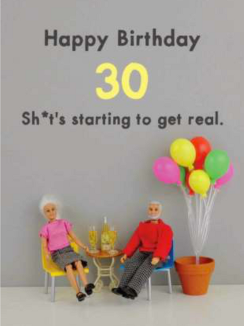 Bold & Bright - 30th get real