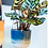 Thumbnail: Sass & Belle Mojave blue hanging planter