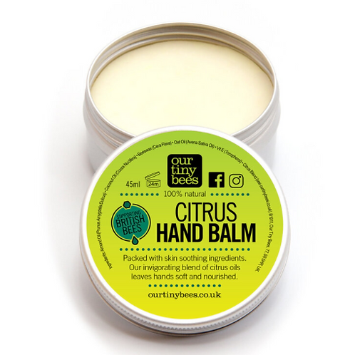 Our tiny bees - Citrus hand balm