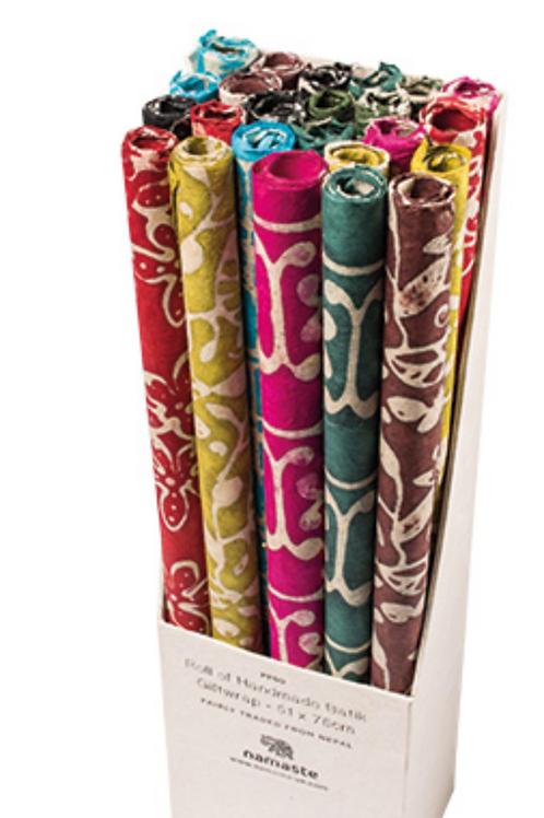Batik gift wrap