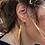 Thumbnail: Sarah Drew brass shard earrings