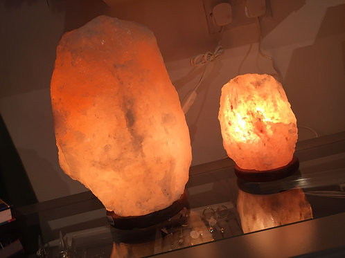 Himalyan Salt Lamp 12kg - 16kg - click and collect