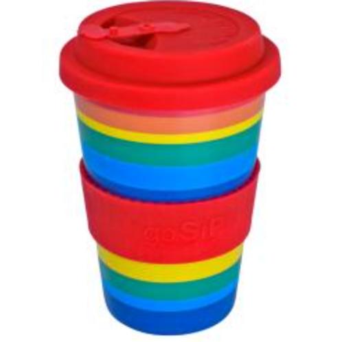 Rice husk rainbow cup