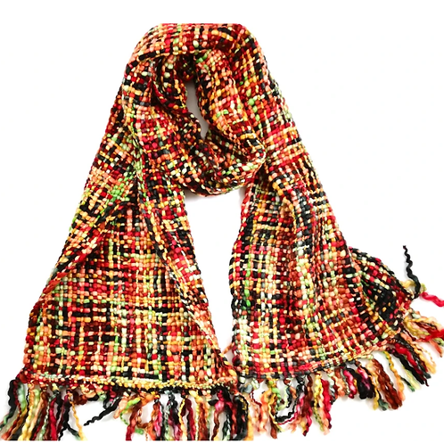Cool Trade Winds ethically made scarf - Winter Gold