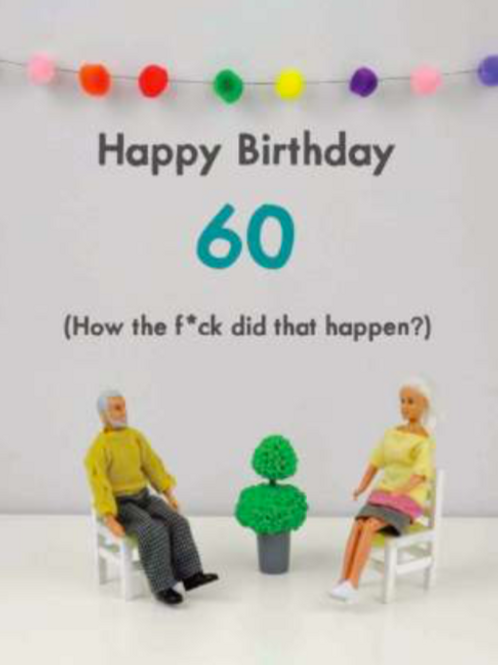 Bold & Bright 60th how did that happen