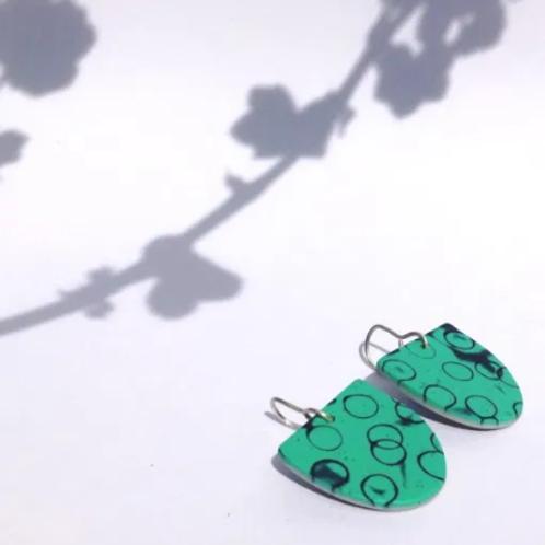 Nadege Honey - Bubble u earrings