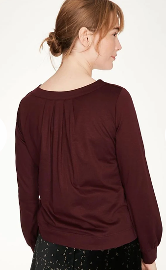 Thought Briar top in fig