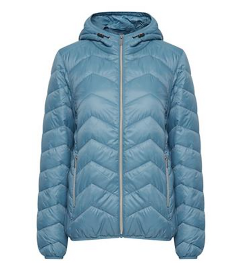 Fransa padding thinsulate jacket in storm blue