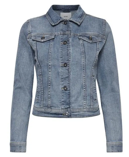 Ichi stampe denim jacket