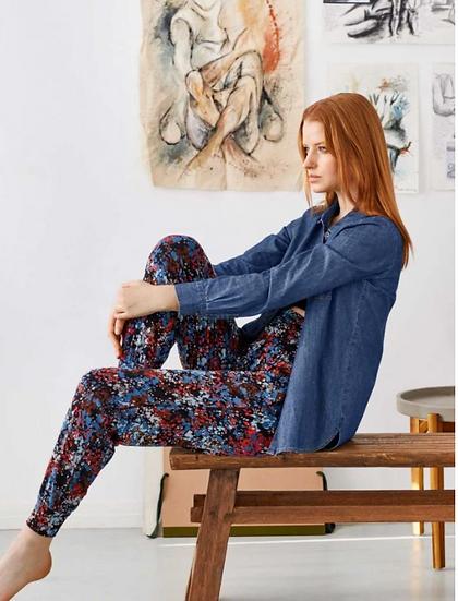 Thought Zambaco dashka bamboo organic cotton jersey trouser