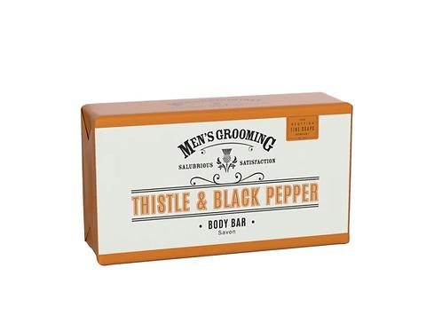 Scottish Fine Soaps Body Bar Thistle & Black Pepper