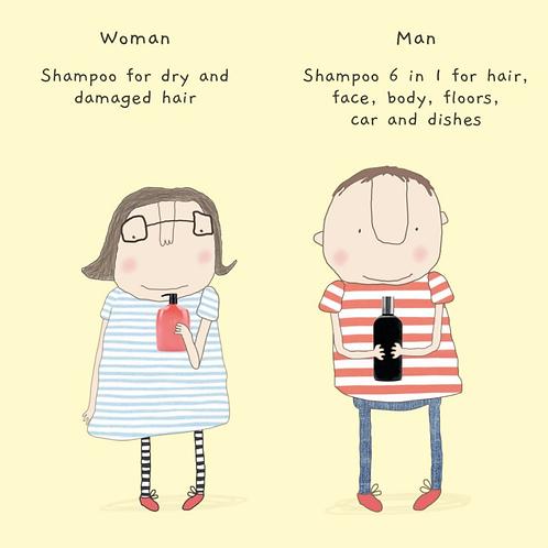 Rosie made a thing - Shampoo