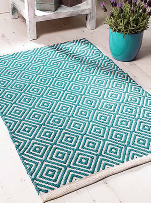 Recycled cotton rug 60x 90