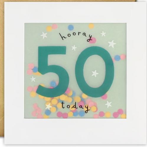 Shakies - Happy 50th Birthday card