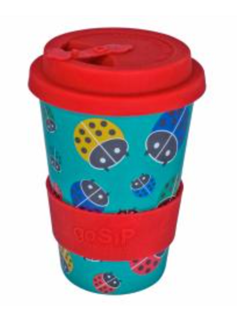 Rice husk ladybird cup