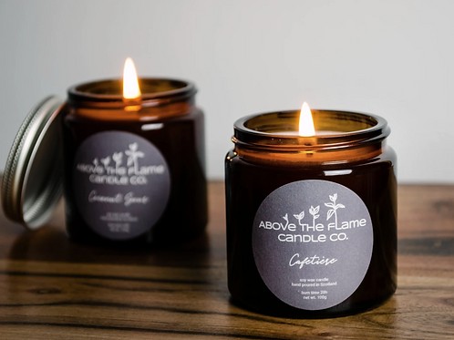 Above the flame candle - Cafetiere