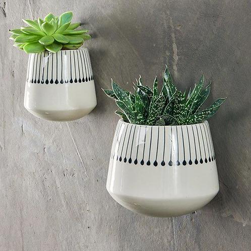 Nkuku Matamba matchsticks wall hung planter