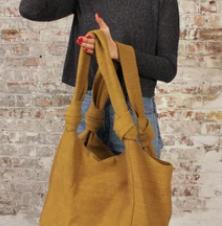 Aura Que Jogi bag in mustard