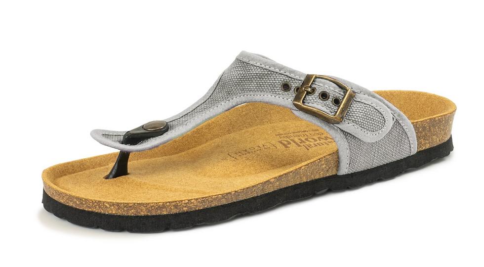Natural World sandals - grey