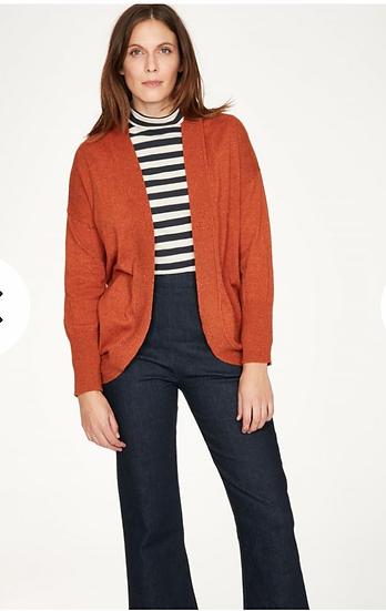 Thought Sophrona spiced orange cardigan