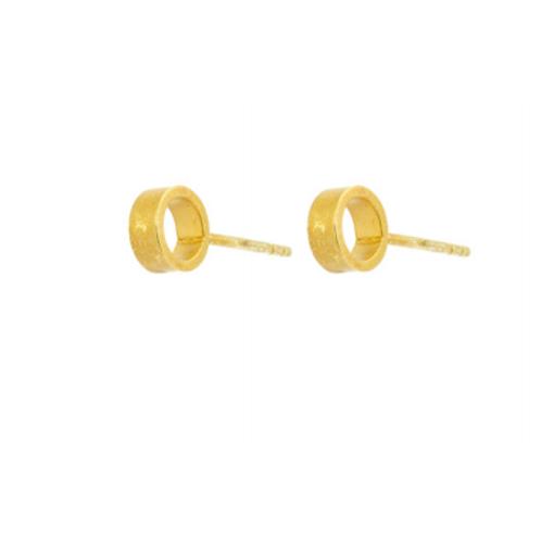 One & Eight Ula gold earrings