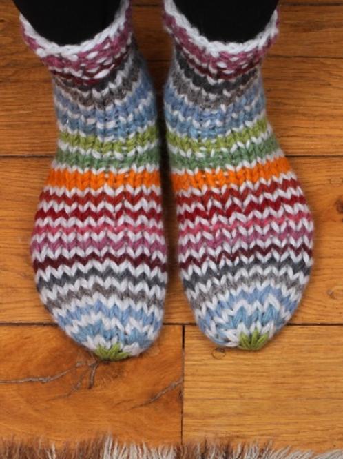 Pachamama Hoxton stripe sofa socks